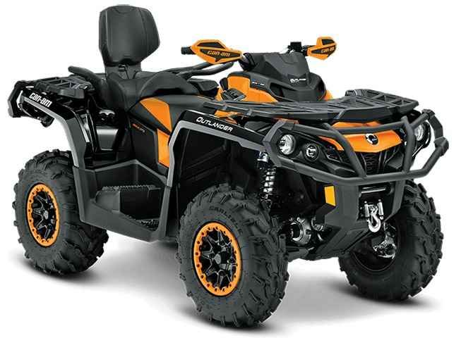 New 2016 Can-Am Outlander Max Xt-P 850 ATVs For Sale in Alabama. 2016 Can-Am Outlander Max Xt-P 850, A fully-loaded two-up that offers one-up sport performance. Rotax V-Twin engine options; Convertible Rack / Seat System (CRS); FOX Performance Series 1.5 PODIUM RC2 shocks; 12 Aluminum Beadlock Wheels with Carlisle ACT Tires; Heavy-Duty Front & Rear Bumpers