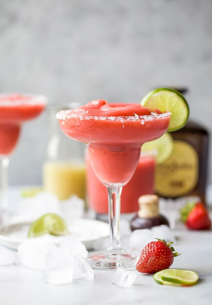 Ultimate Frozen Strawberry Margarita Recipe Strawberry Margaritas Recipe Margarita Recipes Strawberry Margarita Frozen Strawberry Margarita