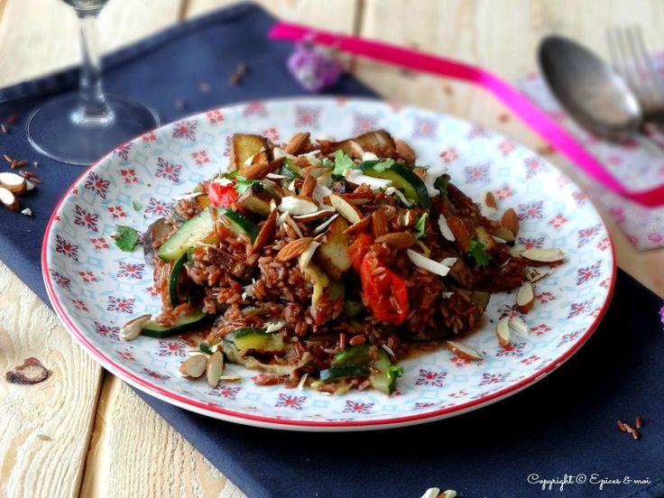 … Pour un petit plat savoureux et ensoleillé ! Et sans gluten ! Une envie de repas complet à base de riz. Et pour changer du riz complet ou encore