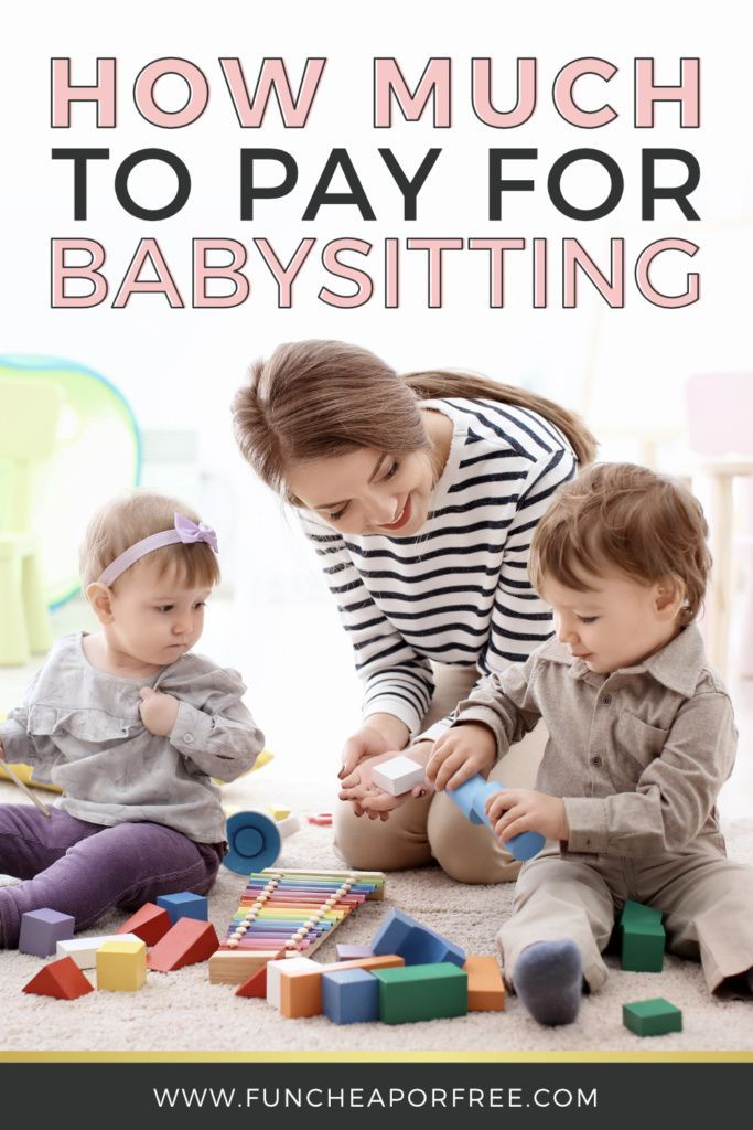 How Much To Pay A Babysitter Save On Childcare Fun Cheap Or Free My Babysitter Babysitter Babysitting Jobs