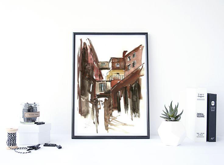 Venesia Sketchbook print