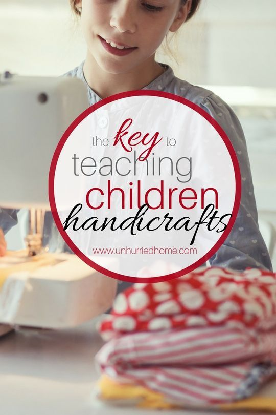 Sewing for kids? Knitting for kids? Needlework for kids? There's a world of handicraft skills for children to learn and I couldn't wait to add them to our homeschool lessons! But project after project was abandoned in our house -- and I think I've figured