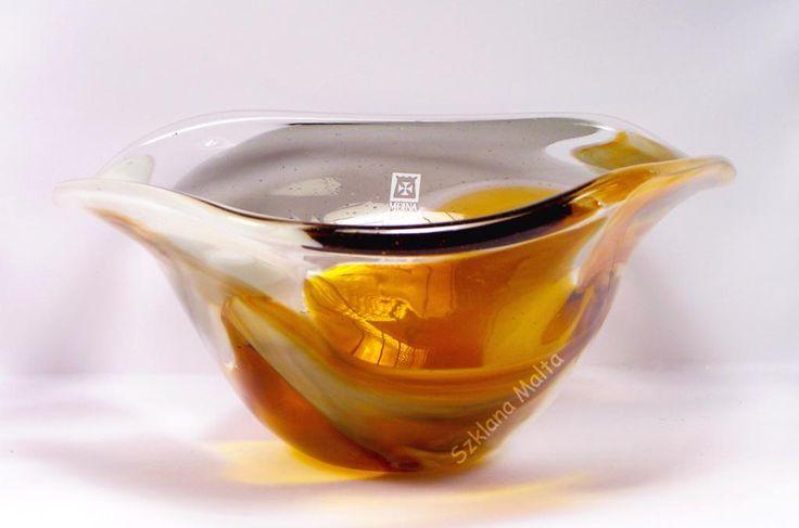 Miska szklana Mdina Glass Malta PROMOCJA -47%