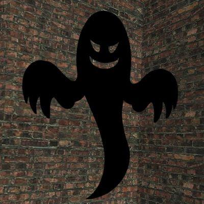 Decorazioni per Halloween: il fantasma con il cartoncino