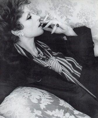 Fendi - Pelliccia in visone - Silvana Mangano, foto di Elisabetta Catalano film Gruppo di famiglia di Luchino Visconti