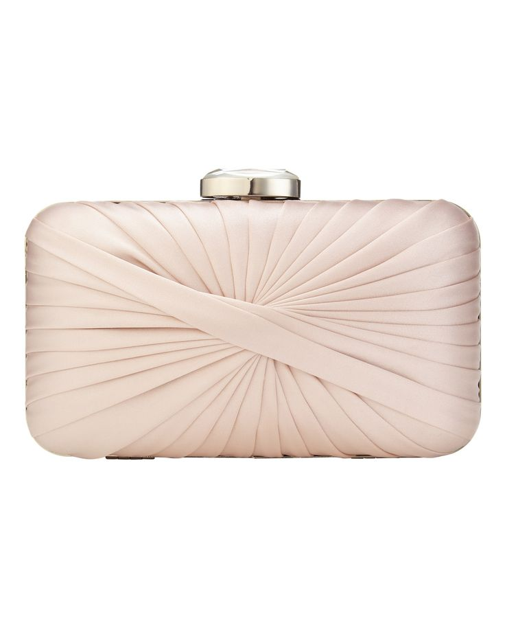 Millie Twist Satin Clutch Bag