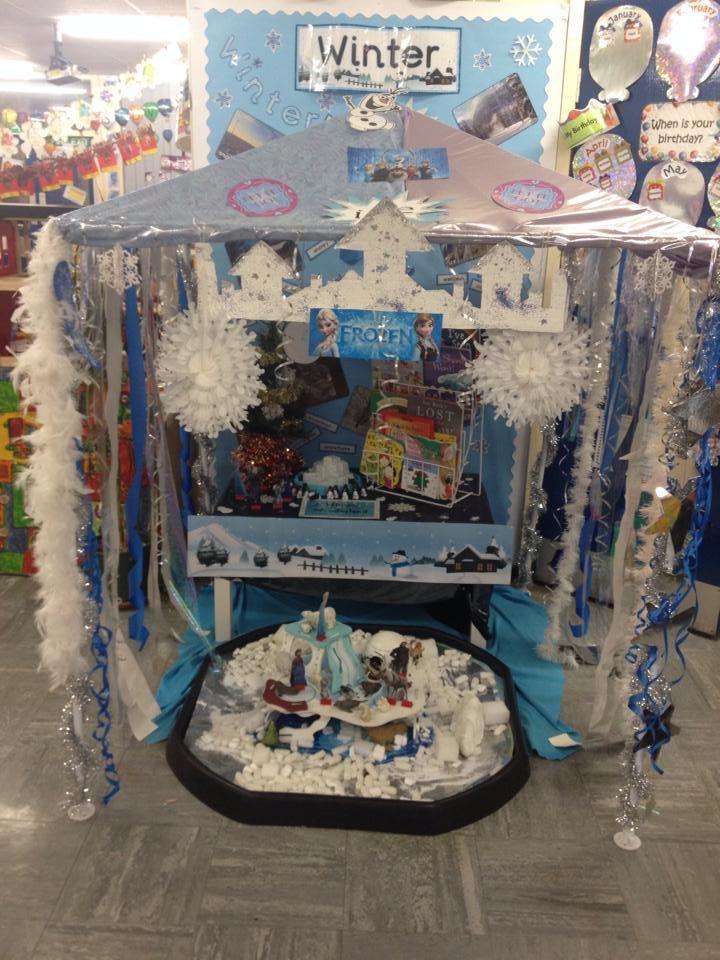 #Frozen #winter #classroom #display, #eyfs, frozen winter classroom display ideas