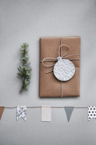 Ferm Living Christmas 2013, christmas present tag idea