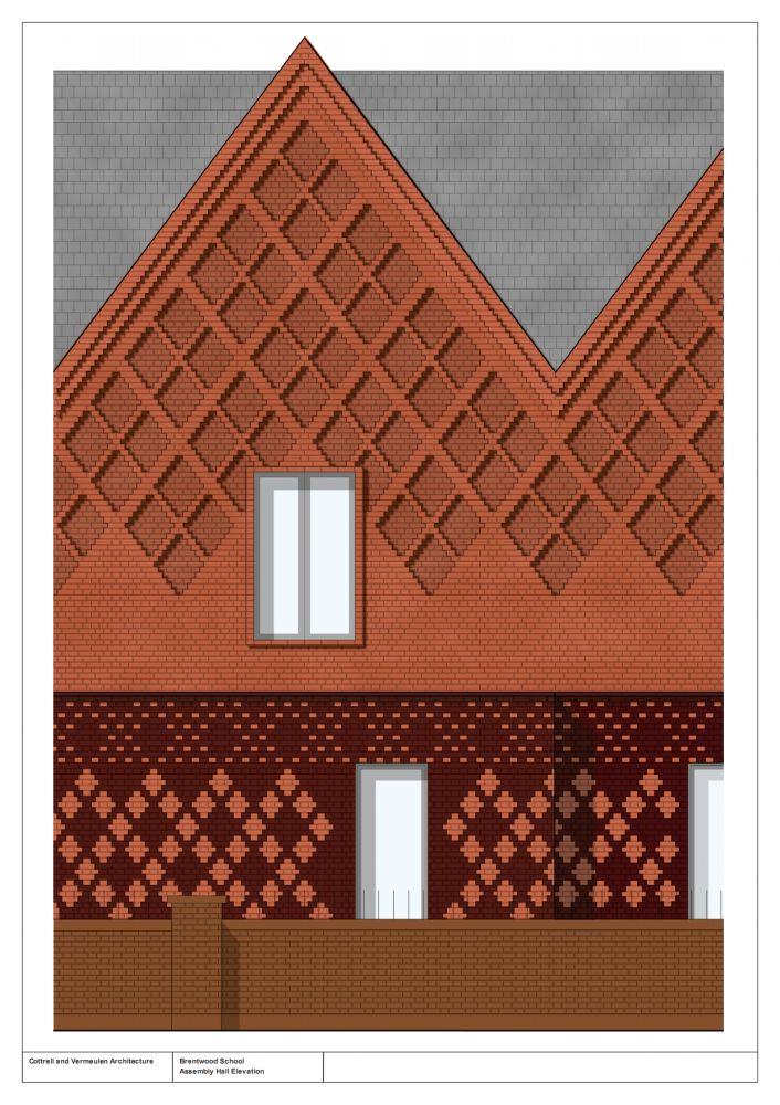 Cottrell & Vermeulen Architecture - Brentwood School Study Centre and Auditorium