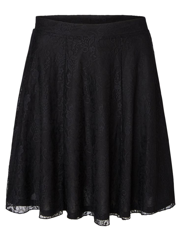 Lace skater skirt from VERO MODA. Wear this with your fave party top.