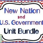 This New Nation and United States Government bundle include everything you need to teach about how the United States formed and the basis of the Un...