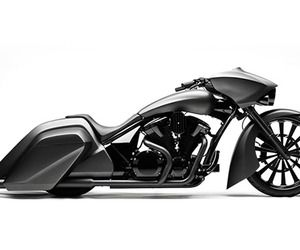 Nice No Without My Bike   Honda Stateline Slammer Bagger Concept Ideas