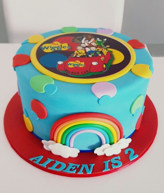 Wiggles cake by Dina's cupcakes and cakes