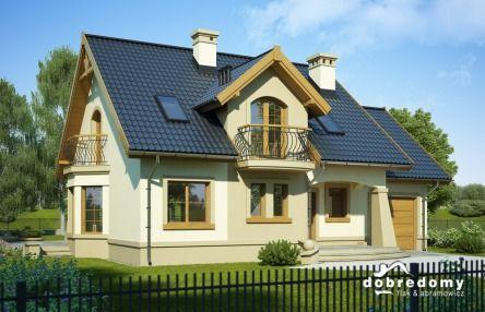 #Projekty domów z poddaszem są zawsze urocze! Oto przykład :) #houseproject