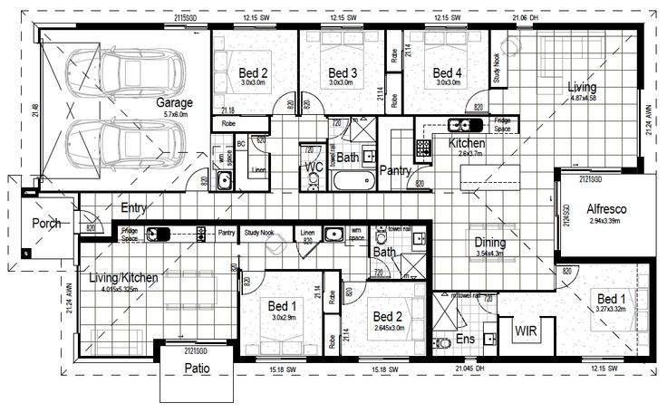 Dual living 260 decorating pinterest house design for Dual living home designs