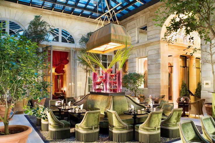 grand hotel de bordeaux & spa : l'orangerie