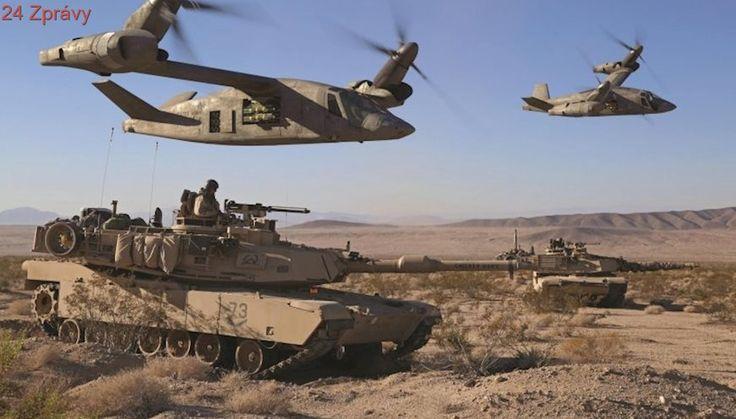 Legendární Black Hawk je minulostí. Americká armáda pracuje nových špičkových helikoptérách