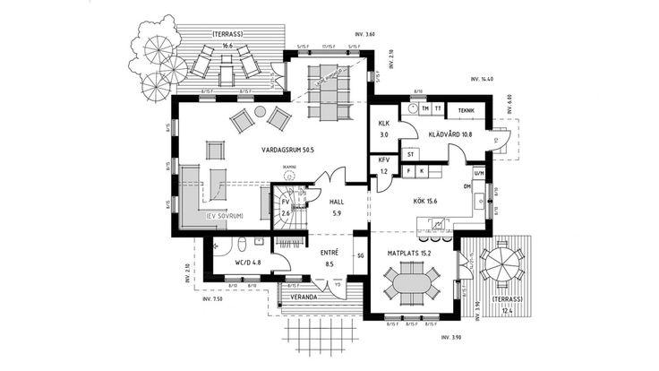 Villa Skultuna är en välplanerad klassisk 2-plansvilla med härligt lantkök med köksö, matplats och skafferi. Se fler fakta, bilder och ritningar här!