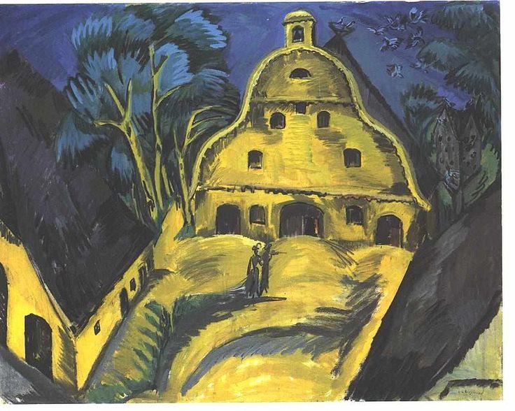 Kirchner - Gut Staberhof auf Fehmarn - Ernst Ludwig Kirchner - Wikimedia Commons