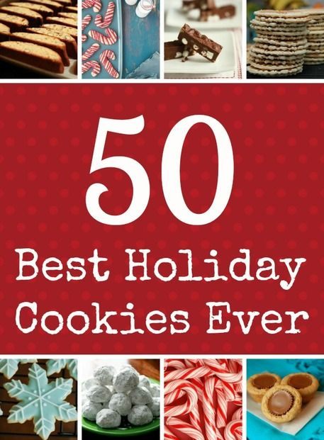 50 of the Best Holiday Cookies Ever - Craftfoxes