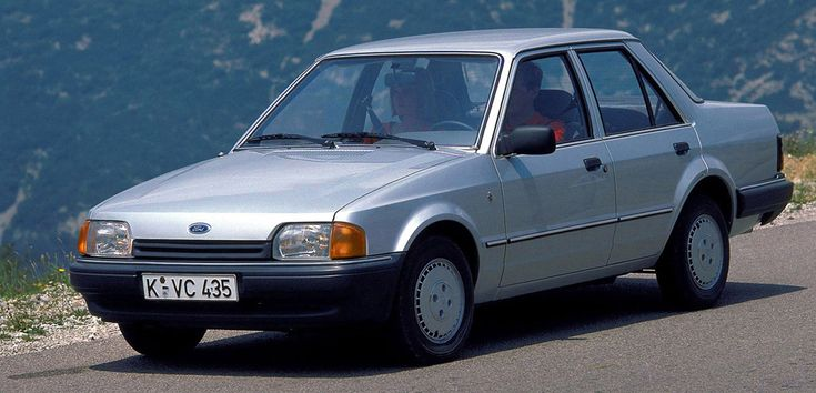 Ford Orion Mk2. Ford Motor Company 86..90
