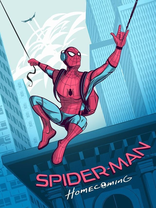 Spider-Man: Homecoming by Dustin Knotek