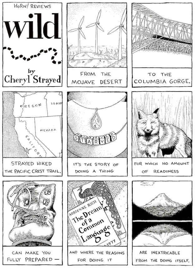 Wild: From Lost to Found on the Pacific Crest Trail by Cheryl Strayed :