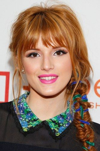 Hairstyles For Fine Hair - Bella Thorne. For more ideas, click the picture or visit www.sofeminine.co.uk