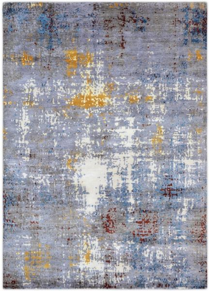 3461 Contemporary Wool & Bamboo Silk Rug 275x361cm http://loomrugs.com/rugs/contemporary-rugs