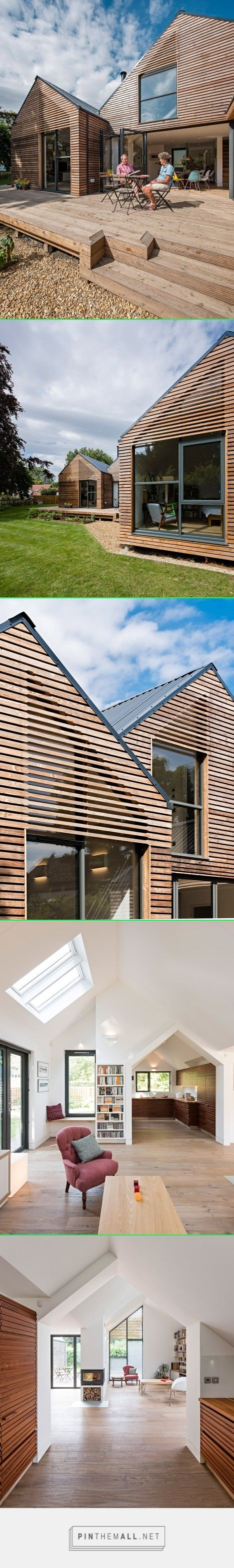 Baca's flood-resilient home beside an Oxfordshire brook  http://www.dezeen.com/2016/03/26/water-lane-baca-architects-floating-house-oxfordshire-brook-flood-resilient/ - created via https://pinthemall.net
