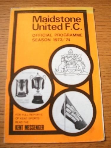14/05/1974 Maidstone United v Dartford/Gravesend XI  Al