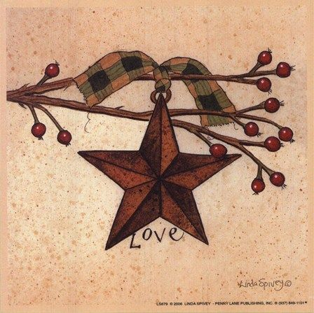 Love Fine-Art Print by Linda Spivey at FulcrumGallery.com