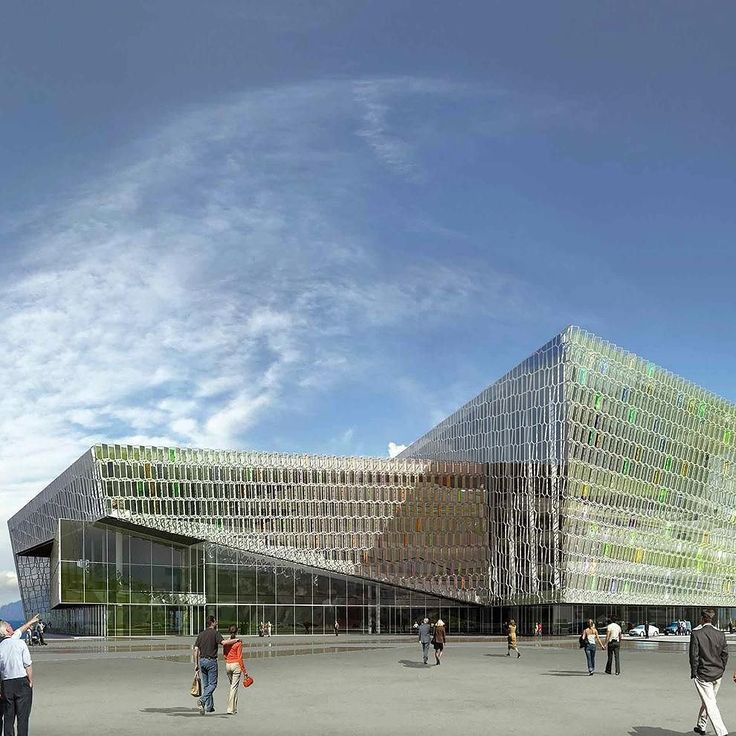 Henning Larsen Architects ve sanatçı Olafur Eliasson'ın tarafından tasarlanan Harpa Konser Salonu ve Konferans Merkezi 2013 Mies van der Rohe Ödülü'nü kazandı.Görsel: Portus #kivi #Reykjavík #Iceland #HarpaConcertHall @henninglarsenarchitects @studioolafureliasson @harpareykjavik#MiesvanderRoheAward @eumiesaward #concerthall #konzerthalle