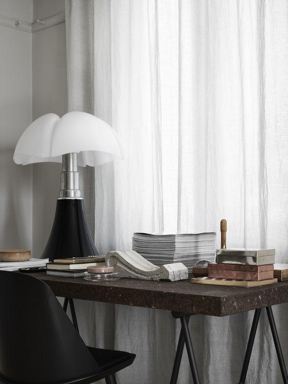 workspace still life. IKEA Ilse Crawford desk