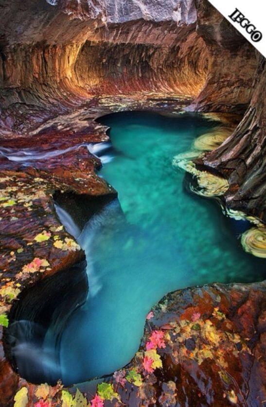 MERAVIGLIE DEL MONDO! Emerald Pools Zion National Park (USA)