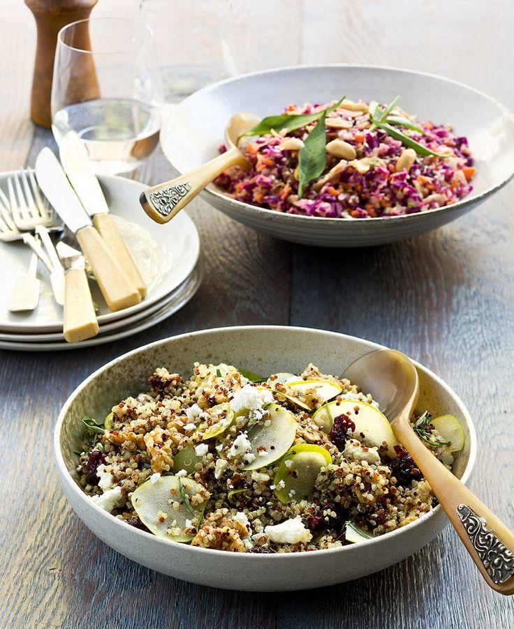 Peanut Butter Coleslaw & Quinoa Salad | Thermomix | #inthemixcookbook
