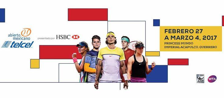 Abierto Mexicano de Tenis 2017 en vivo por ESPN2 y ESPN Play - https://webadictos.com/2017/02/27/abierto-mexicano-tenis-2017-espn/?utm_source=PN&utm_medium=Pinterest&utm_campaign=PN%2Bposts