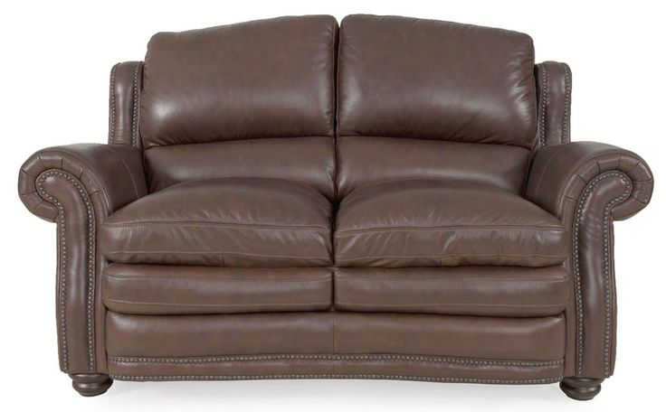 chesapeake leather loveseat american home albuquerque