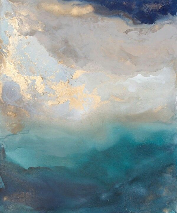 Resultado de imagen para cuadros decorativos abstractos recangulares tonos azules
