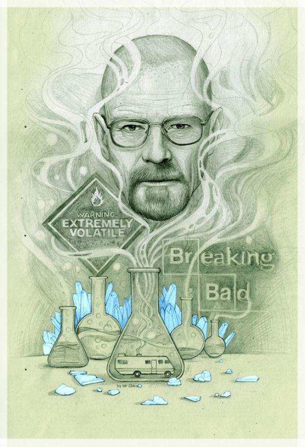 31 exceptionnels fan arts de Breaking Bad