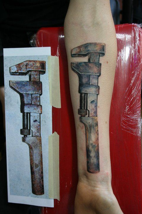 17 best images about plumbing art on pinterest copper t for Above all tattoo
