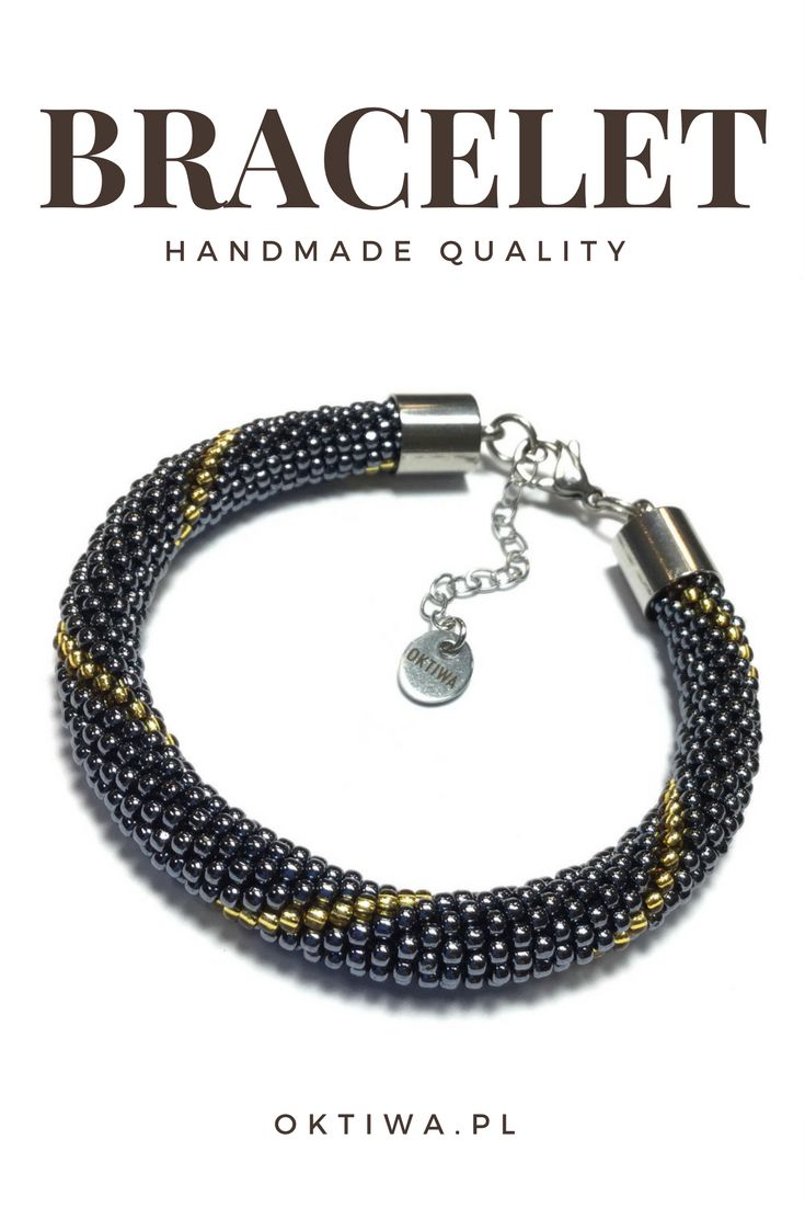 High quality handmade bracelet. Love it.
