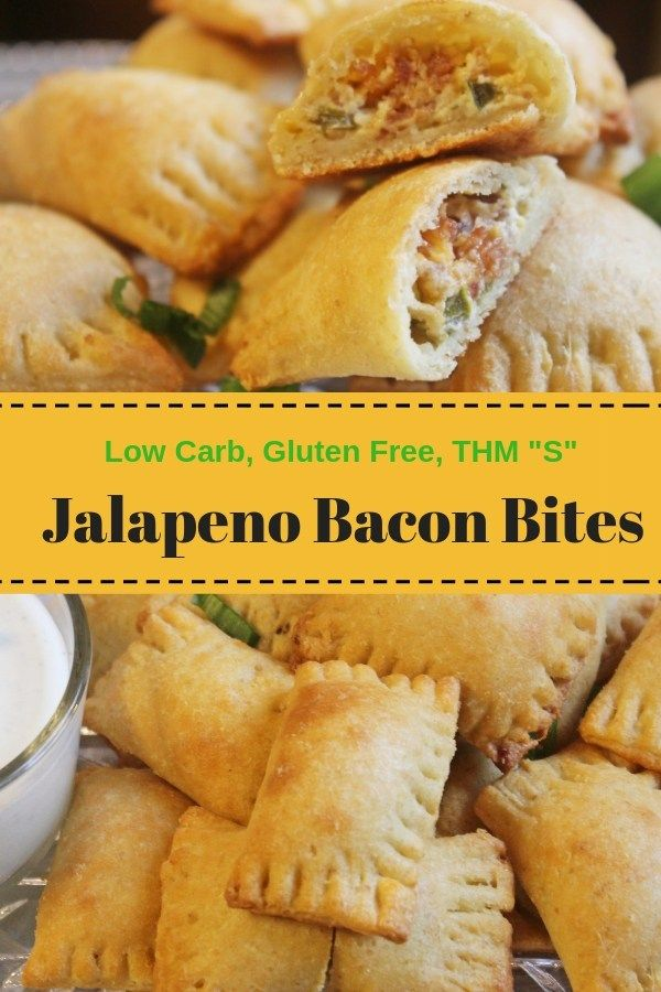 Jalapeno Bacon Bites Low Carb Gluten Free Thm My Table Of