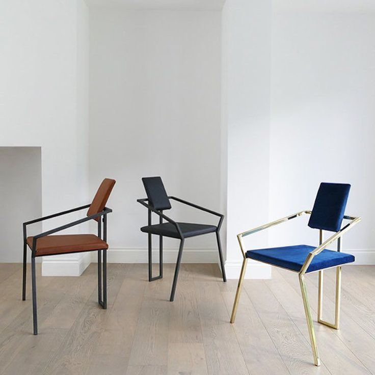 Love the spider chairs from @tamasine_osher. The black version in this picture is upholstered with @pinatex a sustainable textile made of waste plant fibres from the pineapple harvest . Looking forward to all the new materials to enter the market in the near future... e.g. @muskin_vegan_leather a 100% biodegradable vegetal leather extracted from mushroom caps  #sustainablefurniture #chairdesign