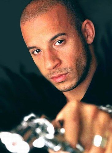Vin Diesel.. oh the list of awesome things I can think of to do wit you and me <3