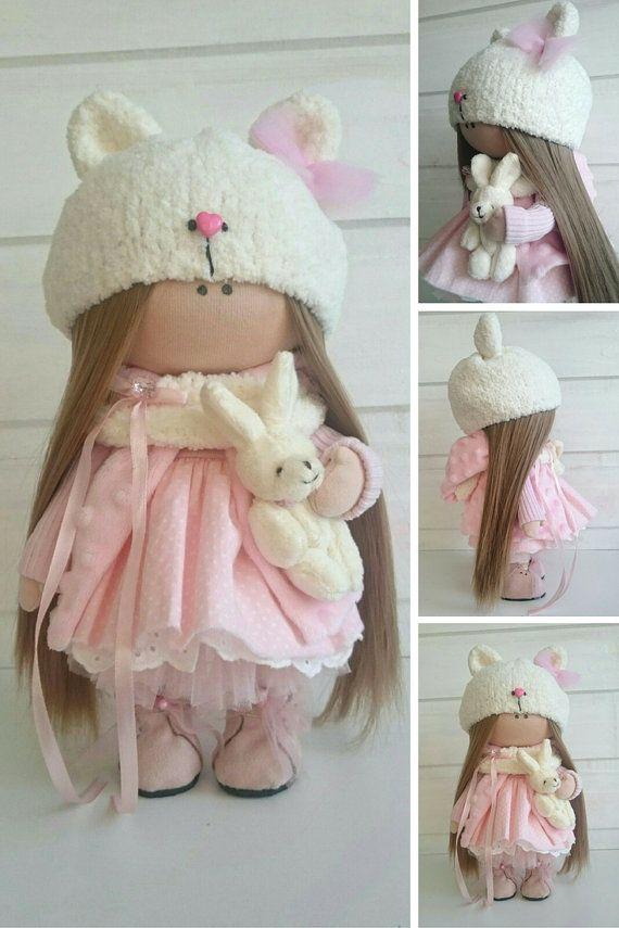 Rag doll Baby doll Nursery doll Tilda doll от AnnKirillartPlace