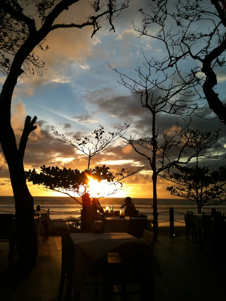 Sunset at Chez Gado-Gado, Bali