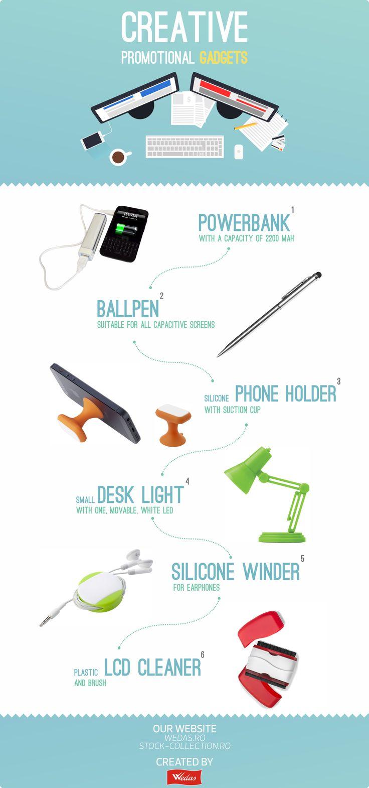 Gadget-uri promotionale creative