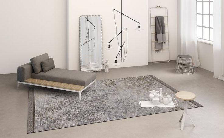 Světle hnědý kusový koberec RugXstyle, koberce BOCA. / Light brown rug RugXstyle, BOCA carpets.  http://www.bocapraha.cz/cs/aktualita/75/kusove-koberce-do-kancelari-a-dalsich-komercnich-prostor/