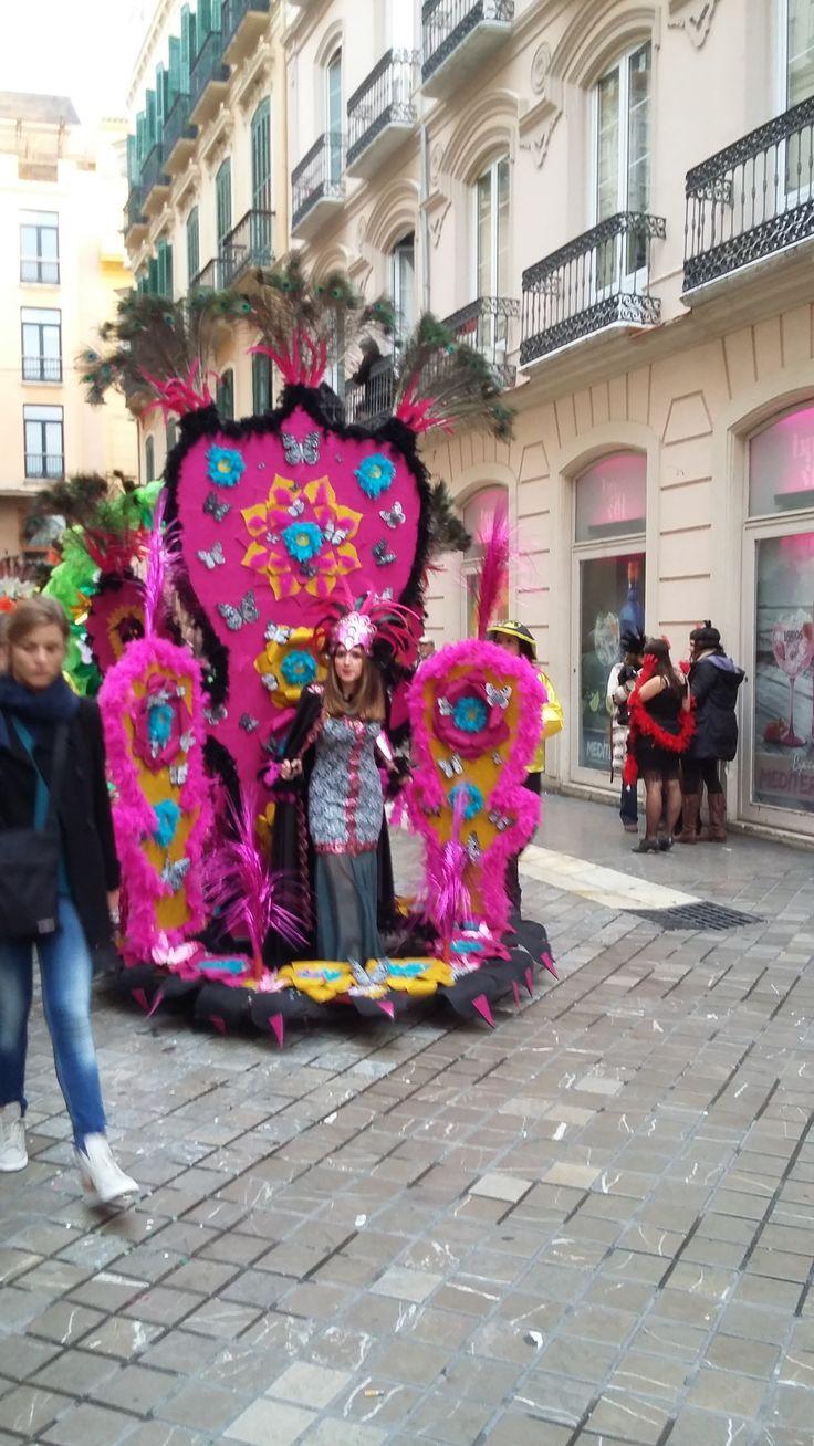 Jak się bawią w Maladze podczas karnawału | dObraŻona w Maladze